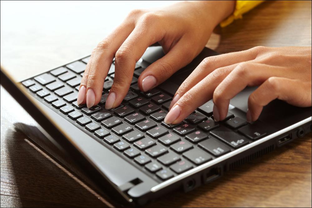 Проверка работы клавиатуры ноутбука