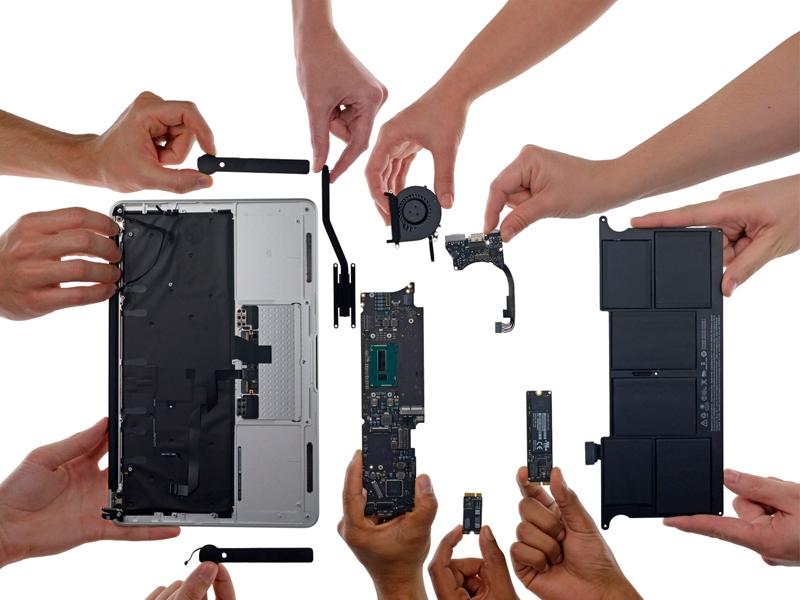 Сборка MacBook Pro