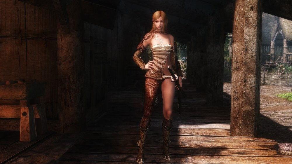 Скриншот игры Skyrim