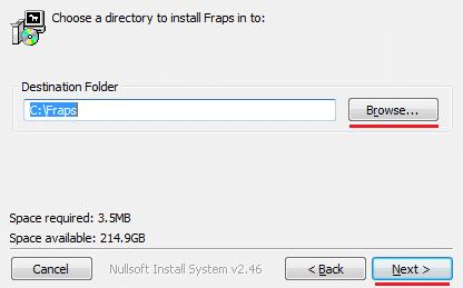 Установка программы на диск С