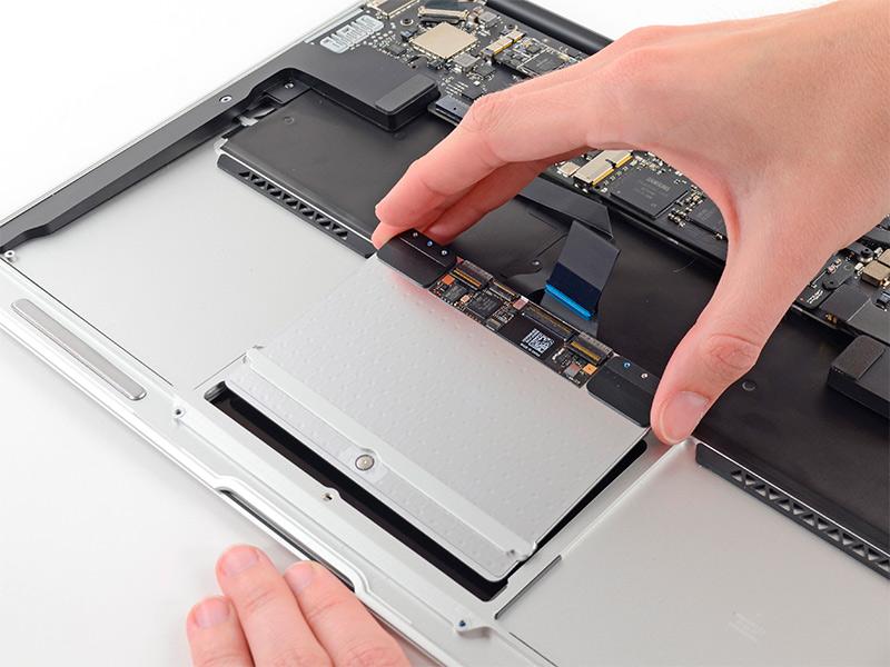 Замена touchpad на MacBook