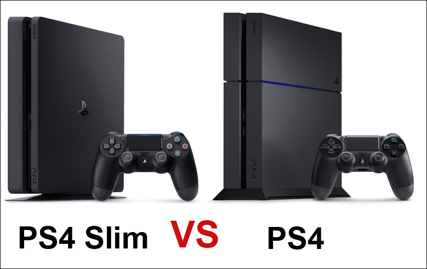 PlayStation 4 Slim или PS4