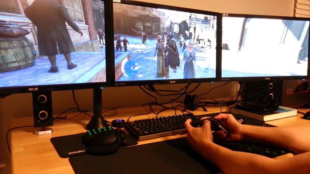 Процесс игры на PS3