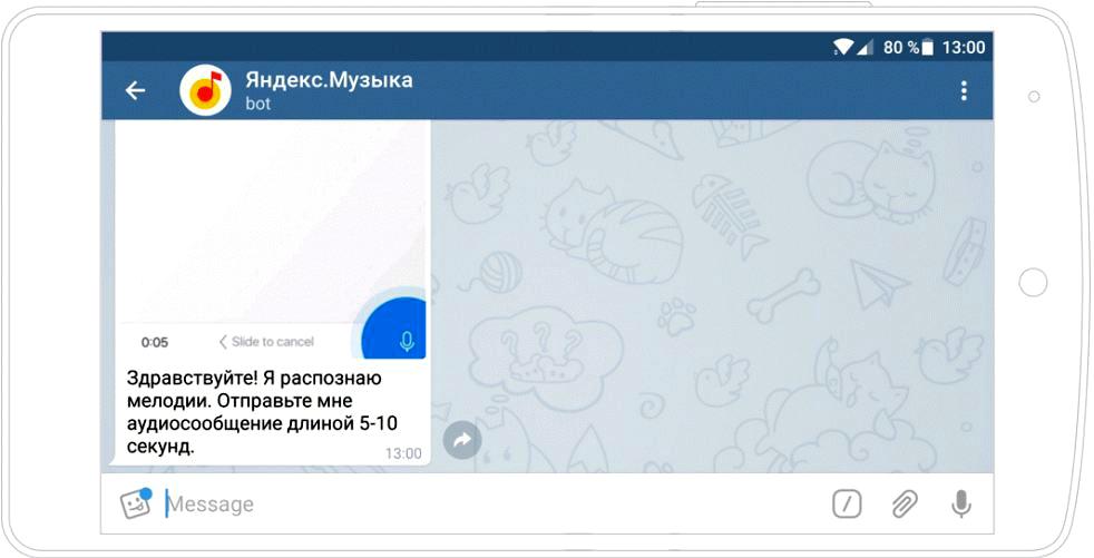 Бот Яндекс.Музыка