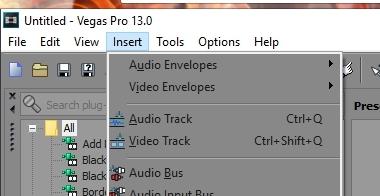 Audio/Video Track