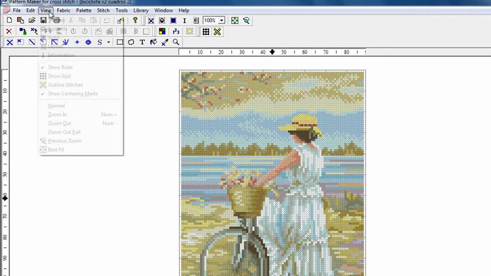 Pattern Maker for Cross-stitch