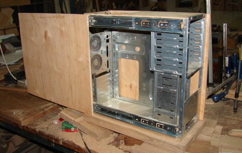Как сделать компьютер из дерева