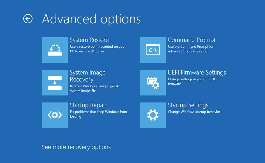 UEFI Firmware Setting