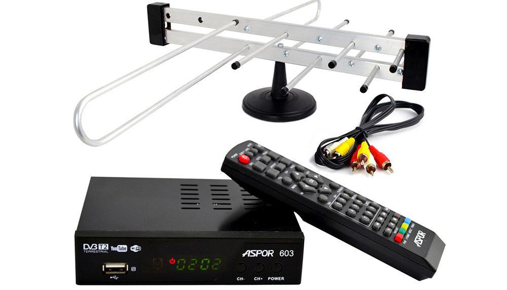 Комплект антенна и ресивер