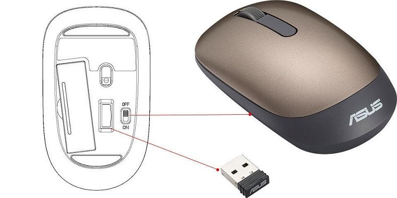 Пример беспроводной мыши