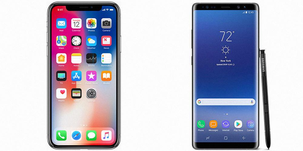 СравнениеSamsung иiPhone