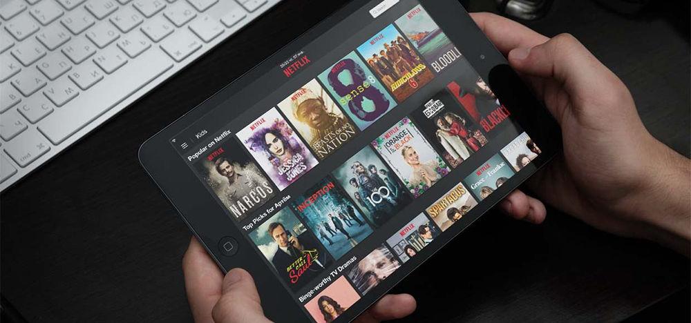 Netflix на iPad
