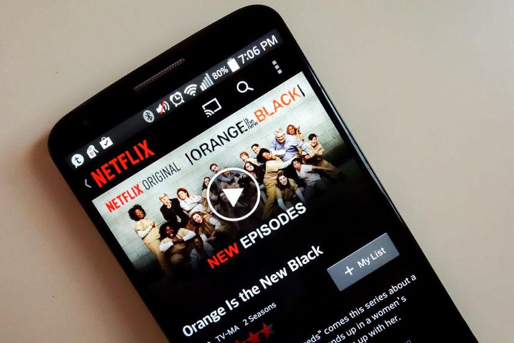 Netflix на смартфоне