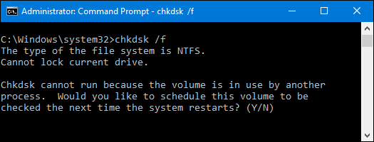Windows CHKDSK