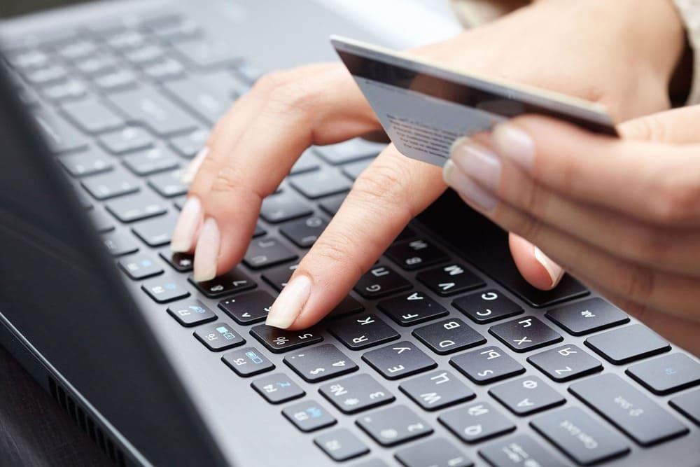 Нельзя вводить номер кредитной карты
