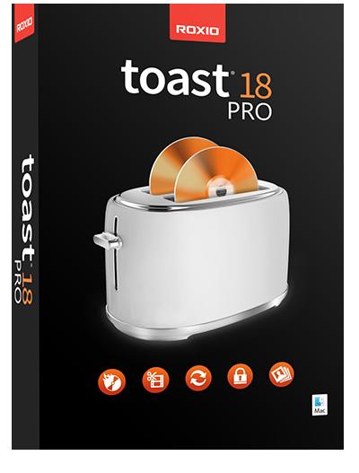 Roxio toast pro