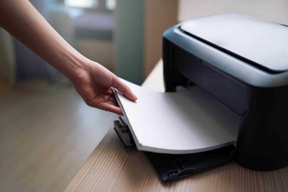 Ошибка замятие бумаги в принтере
