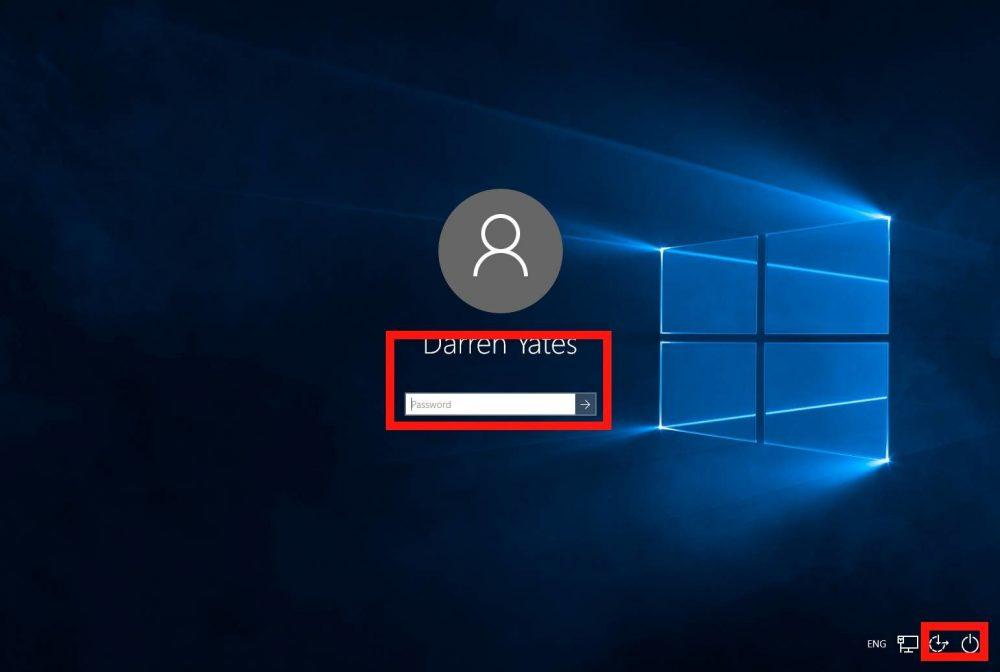 Экран блокировки системы