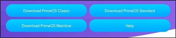 Загрузка операционной системы PrimeOS с официального сайта