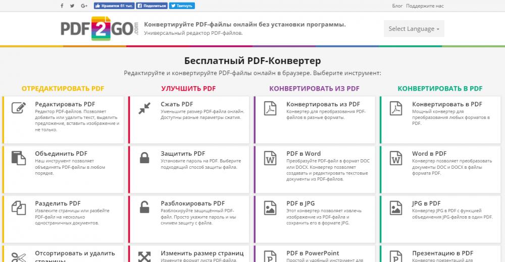 Как сжать PDF-файл