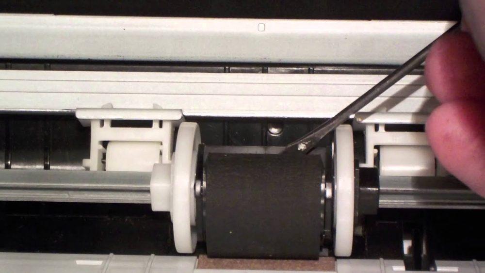 Сломанные ролики принтера