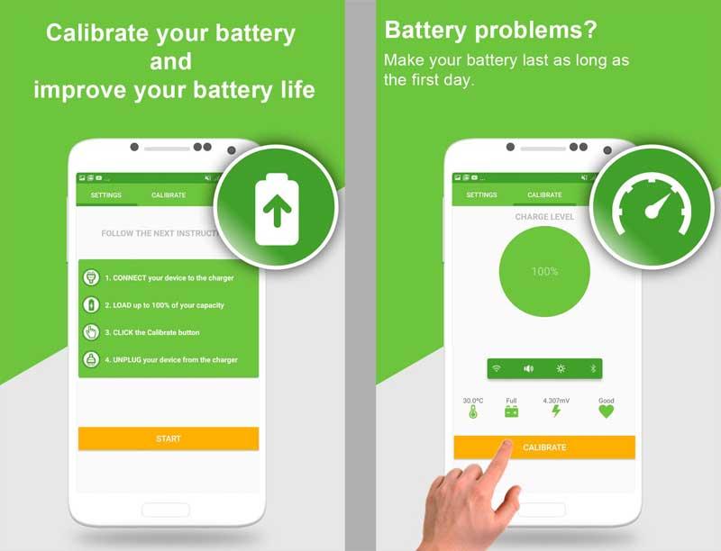 Прошивка программой Battery Calibration на Android