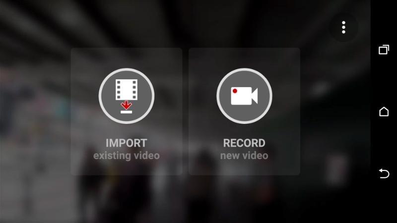 Программа Microsoft Hyperlapse Mobile