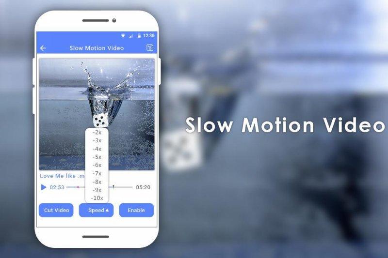 Программа Video slow Motion