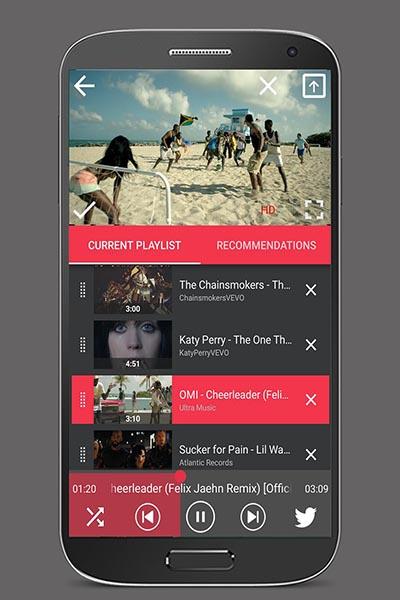 FlyTube на Андроид