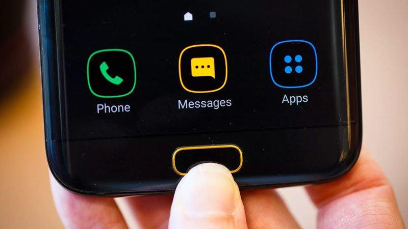 Кнопка Home на Android