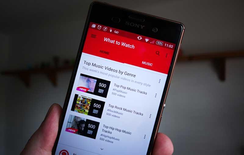 Приложение YouTube Red на Android