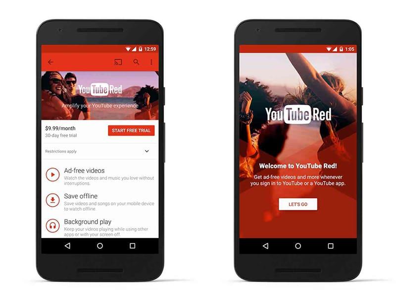 Программа YouTube Red