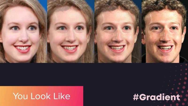 Трансформация фото в You Look Like на смартфоне
