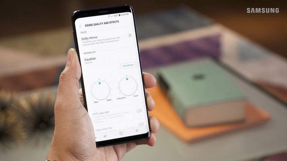 Как включить Dolby Atmos на Samsung Galaxy
