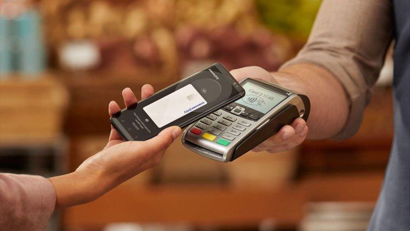 Оплата через смартфон с MST модулем