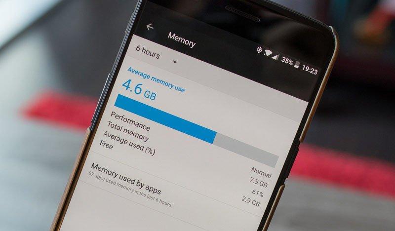 Размер памяти смартфона