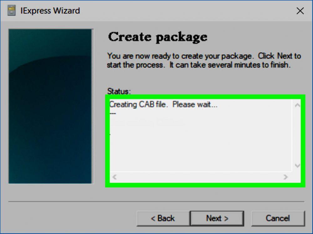 Что такое CAB-файл в Windows