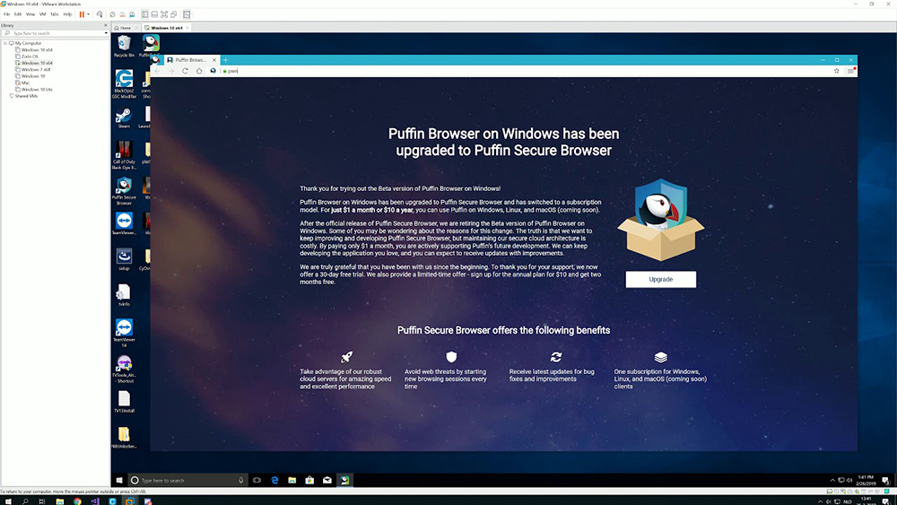 Puffin Secure Browser