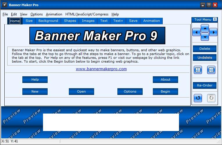 Программа Banner Maker Pro