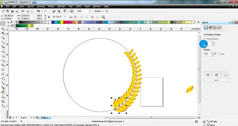 Графический редактор CorelDraw