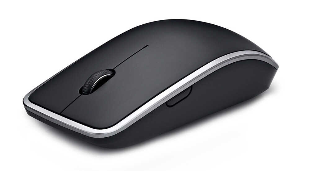 Компьютерная мышь DELL WM514 Black-Silver USB