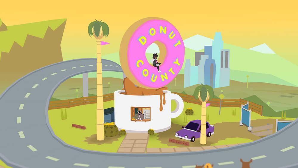 Игра Donut County