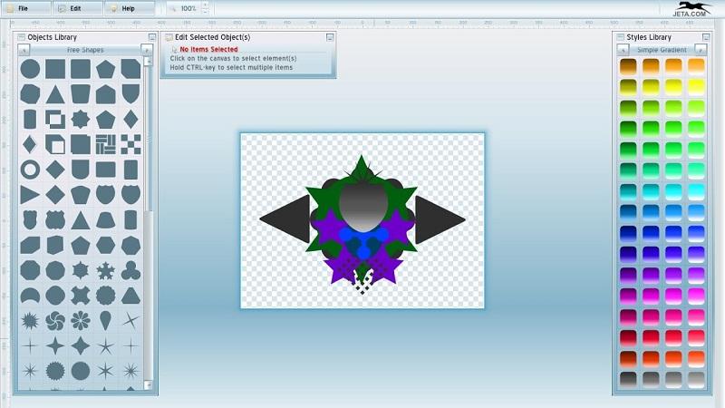Программа Jeta Logo Designer