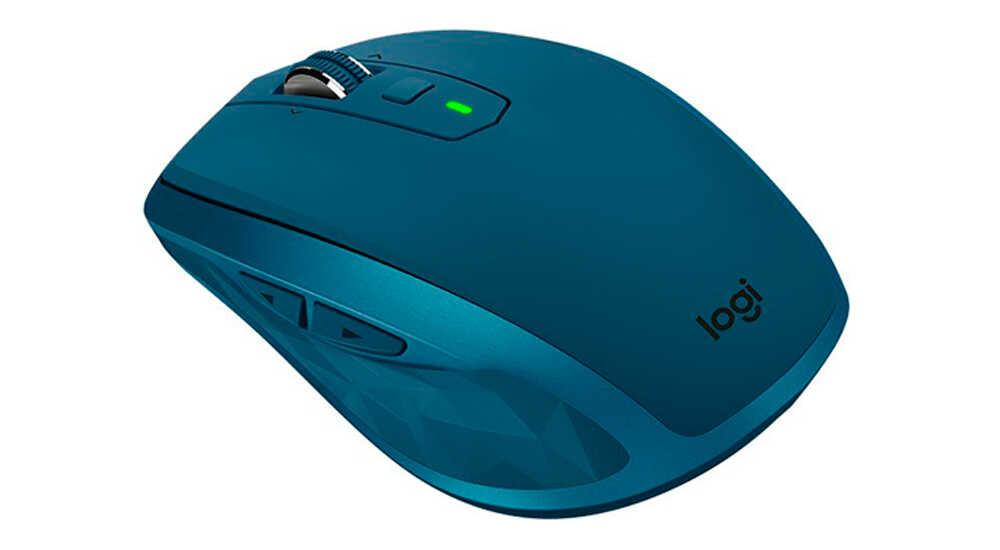 Компьютерная мышь Logitech MX Anywhere 2S Midnight Teal Bluetooth