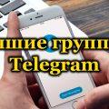 Лучшие группы в Telegram