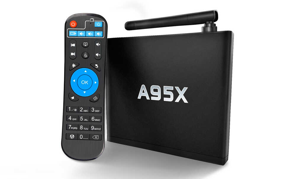 Smart-TV приставка NexBox A95X