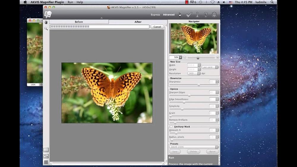 Программа для фото AKVIS Magnifier