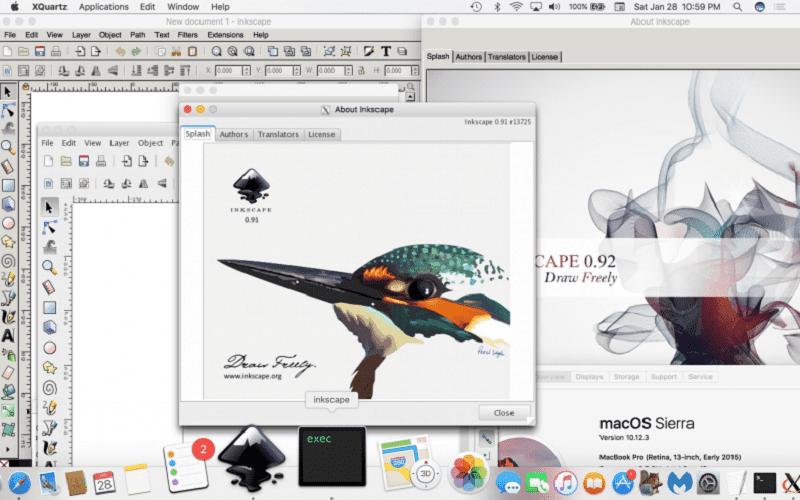 Программа Inkscape