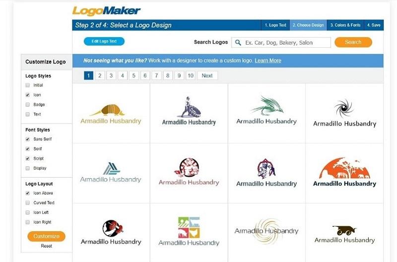 Программа LogoMaker