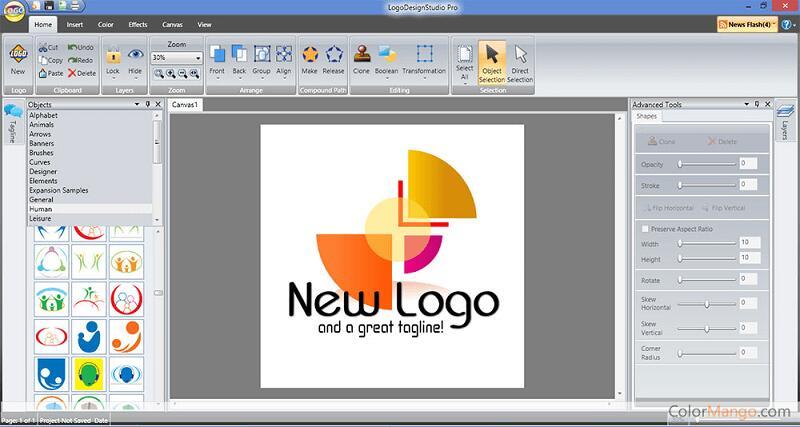 Программа Logo Design Studio Pro